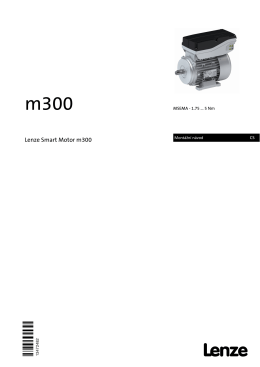Montážní návod Lenze Smart motor m300
