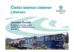 Čistící stanice cisteren Litvínov (PDF)