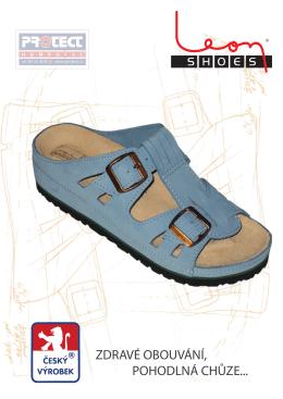 Ortopedická zdravotní obuv LEON
