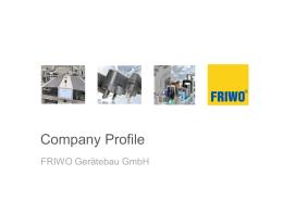 Friwo company profile