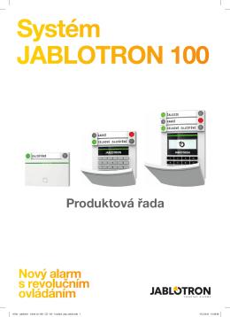 Jablotron 100 – katalog