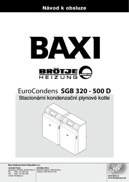 EuroCondens SGB 320 - 500 D
