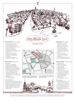Plan des Böhmischen Dorfes