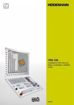Prospekt iTNC 530 Design7 - tschechisch