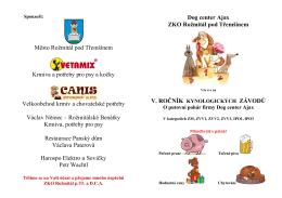 Město Rožmitál pod Třemšínem Krmiva a potřeby pro psy a kočky