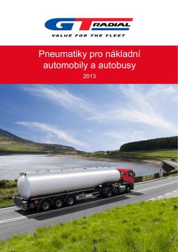 Pneumatiky pro nákladní automobily a autobusy