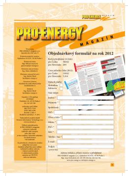 Objednávkový formulář na rok 2012 ý formullář na rok 200112