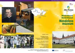 Mendelovo muzeum - Top výletní cíle jižní Moravy