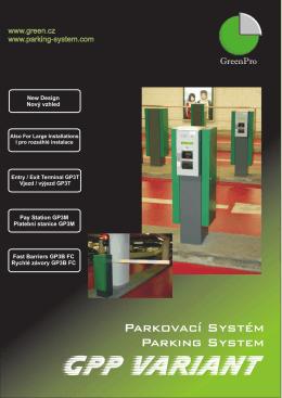 GPP Variant parkovací systém
