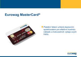 Eurowag MasterCard