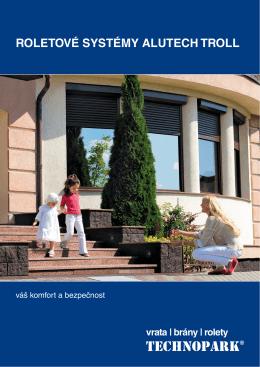 Brožura - Roletové systémy Alutech Troll (pdf)