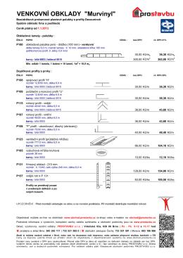 Ceník (pdf)