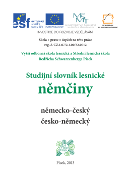 Studijní slovník lesnické němčiny.pdf