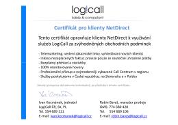 certifikát NetDirect