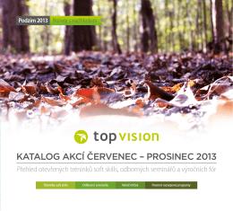 KATALOG AKCÍ ČERVENEC – PROSINEC 2013