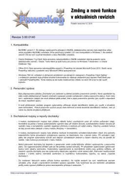 Pwk 3.0 změny v nových revizích