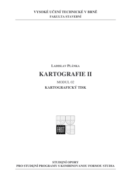 KARTOGRAFIE II
