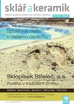 Sklář a keramik - 9-10/2012