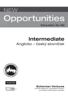 new opportunities  intermediate