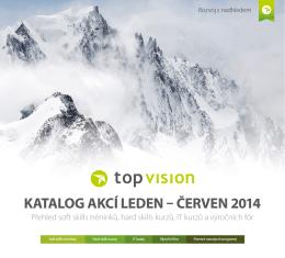 Katalog akcí pro jaro 2014