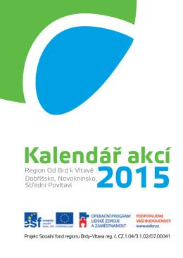 Kalendář akcí 2015 - Brdy