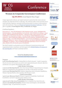 Women in Corporate Governance Conference