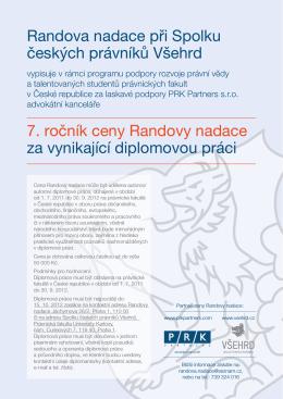 Randova nadace při Spolku českých právníků