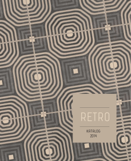 Katalog LOS KACHLOS Retro 2014