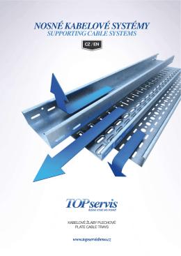 kabelové žlaby plechové plate cable trays