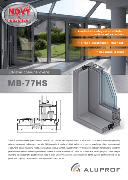 MB 77HS.pdf - Okna Intos