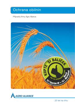 Ochrana obilnin - Agro Aliance sro