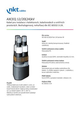 AXCEQ 22kV - ENSLO CZ s.r.o.