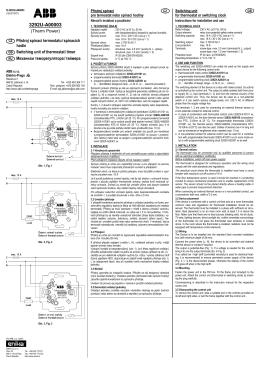 Termostat s kolečkem 3292G-A10100