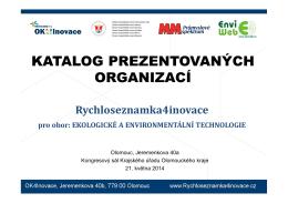 katalog účastníků