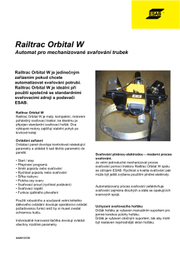 Railtrac Orbital W - Products
