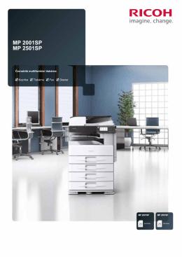 Černobílá multifunkční tiskárna Kopírka Tiskárna Fax
