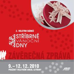2. VELETRH DÁRKŮ - stříbrné vánoční dny 2014