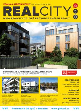 WWW.REALCITY.CZ | VÁŠ PRŮVODCE SVĚTEM REALIT Bydlení
