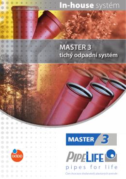 MASTER 3 – Tichý odpAdní SySTéM