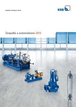 Čerpadla a automatizace 2013