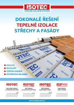 střechy a fasády tepelné izolace dokonalé řešení