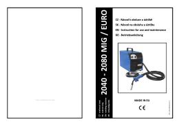 2040 - 2080 MIG / EURO - AZ
