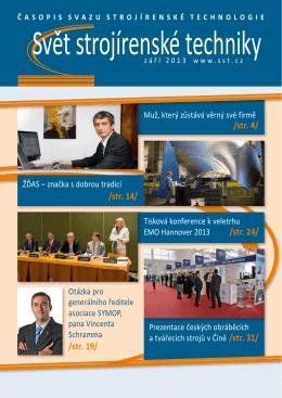 Svět strojírenské techniky číslo 2/2013 (PDF, 9.64 MB)