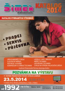 katalog - Šimek proficentrum