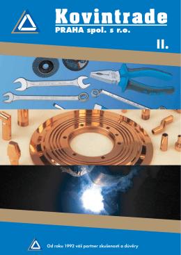 Katalog 2 - SVAŘOVÁNÍ, VELKOOBCHOD