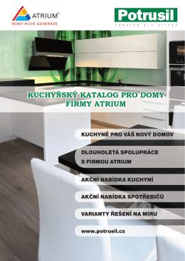 Katalog kuchyní
