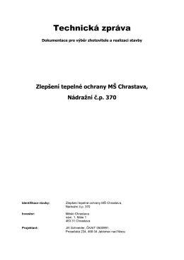 formát doc - Chrastava