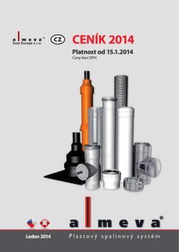 Ceník 2014Stáhnout PDF