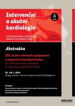 Intervenční a akutní kardiologie - Slovenská asociácia srdcových