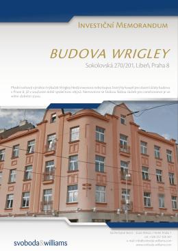 BUDOVA WRIGLEY - Svoboda & Williams